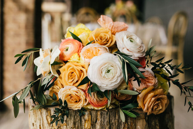 Eventfully Yours Weddings | Styled Shoot | Sunset Orange | Andell Inn